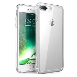 Coque Oucase Silicone Transparente Unique Skid Pour iPhone 7 Plus
